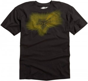 T-SHIRT FOX INDICATOR SUPERIOR  black M,L