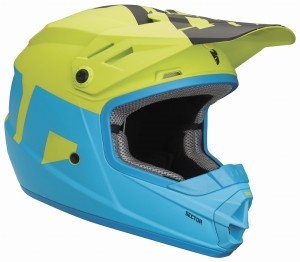 KASK THOR SECTOR matt/elect.blue/lime