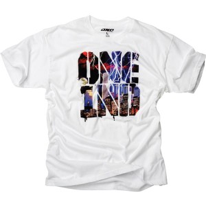 T-SHIRT ONE STORM white rozm.M