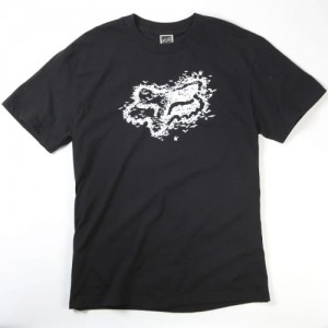 T-SHIRT FOX BATS 09 black