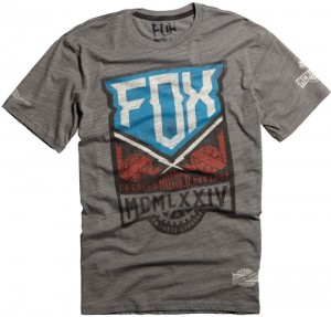 T-SHIRT FOX OPEN CONTROL PREMIUM grey