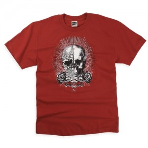 T-SHIRT FOX BIONIC red L