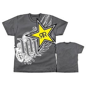 T-SHIRT HART HUNTINGTON ROCKSTAR BIG TIME black