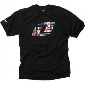 T-SHIRT ONE WORLD WIDE 09 black