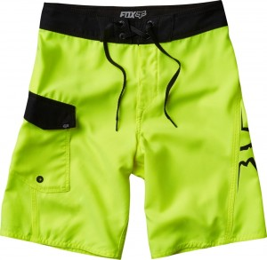 SPODENKI FOX BOARDSHORT OVERHEAD fluo/yellow 30