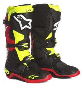 BUTY ALPINESTARS TECH 10  black/yellow fluo/red