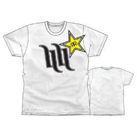 T-SHIRT HART HUNTINGTON ROCKSTAR HART STAR white
