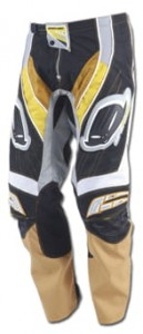 SPODNIE UFO MX17 black/yellow