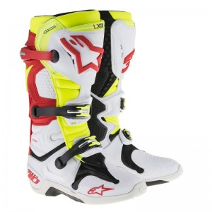 BUTY ALPINESTARS TECH 10  white/red/yellow