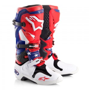 BUTY ALPINESTARS TECH 10  NATIONS  blue /red /white