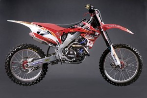 ZESTAW NAKLEJEK PAINT TEAM KIT CRF 250 (10) CRF 450 (09-10)