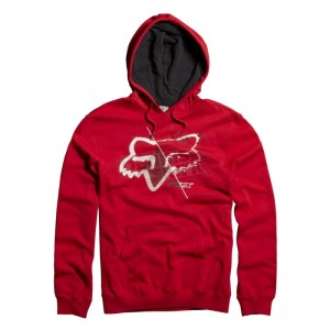 BLUZA FOX OVERDRONE red M, L
